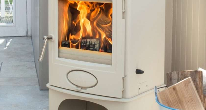 Aarrow Ecoburn Plus Devon Cream Logstore Multifuel