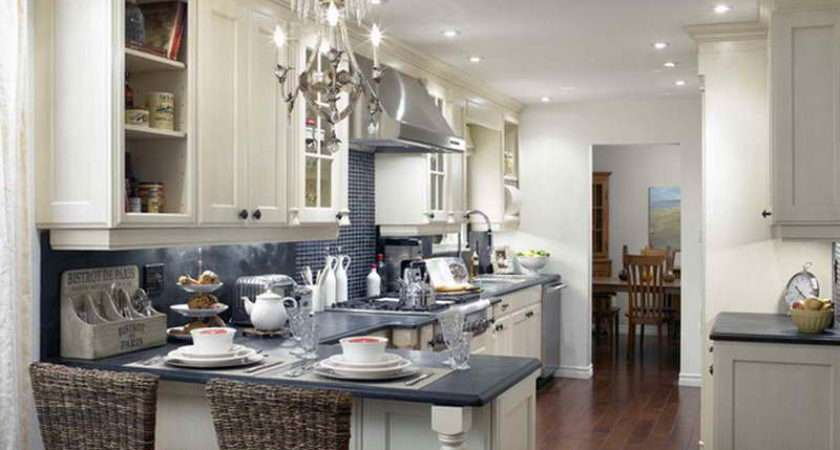 Above Segment Popular Design Kitchen Peninsula Ideas