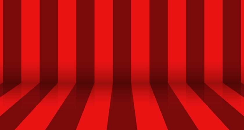 Abstract Horizontal Vertical Red Stripes