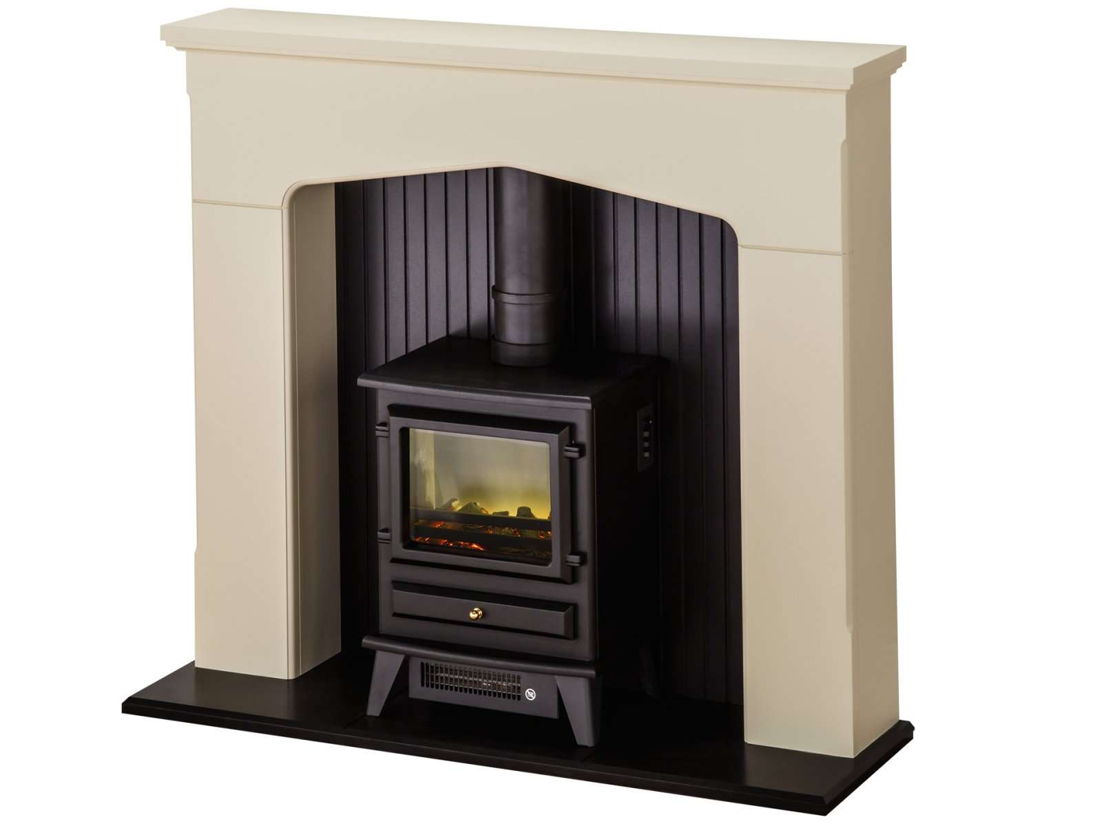 Adam Ludlow Stove Suite Stone Effect Hudson Electric