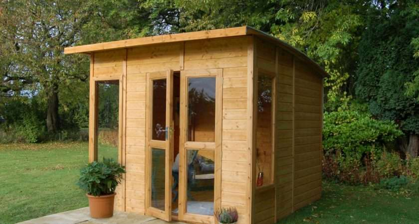 Adorable Design Garden Summer House Shed Aprar