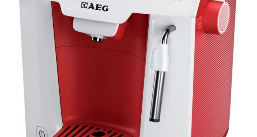 Aeg Favola Red Coffee Machine