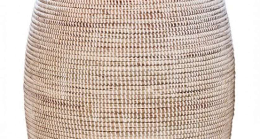 African Laundry Baskets Woven Hampers