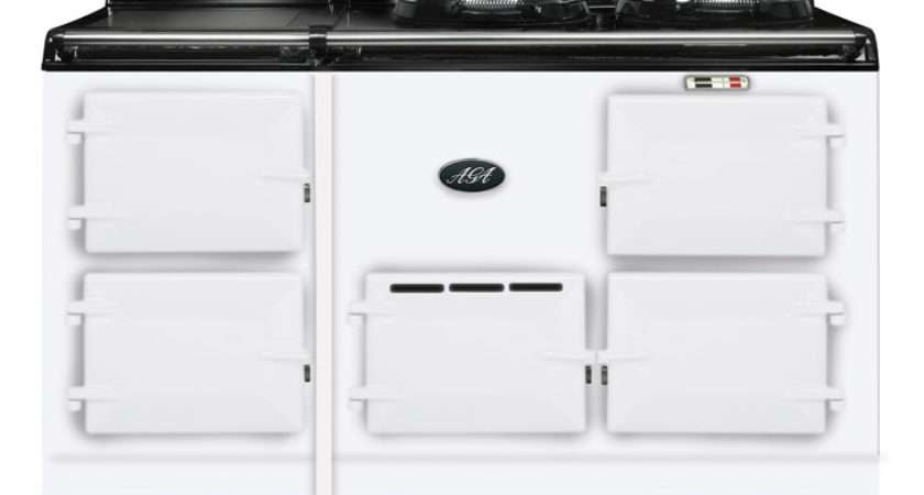 Aga Cooker Fornuis Ovens Wit