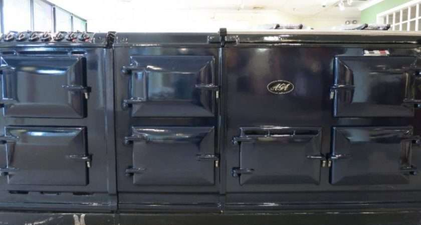 Aga Oven Electric Cooker Module Dark Blue Kitchen Trader