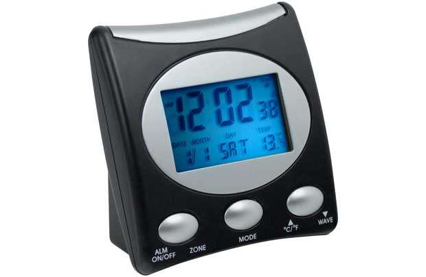 Alarm Clock Temperature Radio Controlled