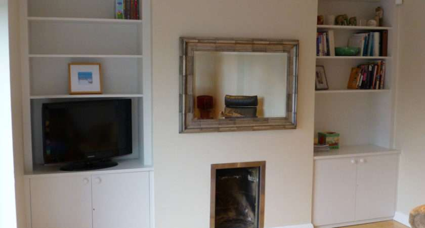 Alcove Cupboards Fitted Ceiling Coving