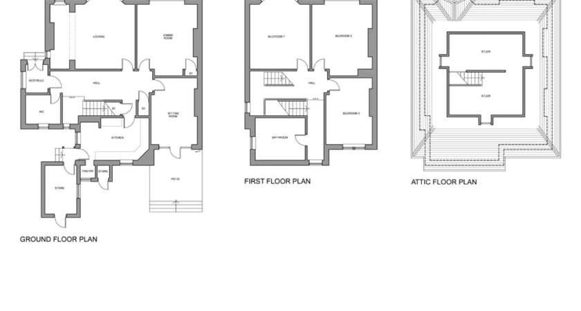Ali House Extension Existing Plans