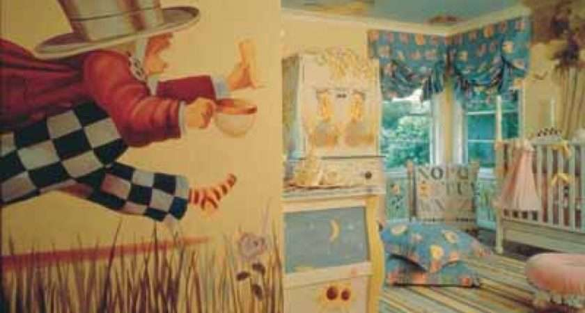 Alice Wonderland Baby Room Unique Design Designs Ideas