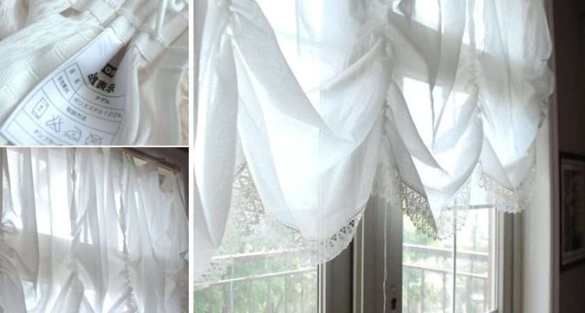 Aliexpress Buy White Lace Embroidered Curtain
