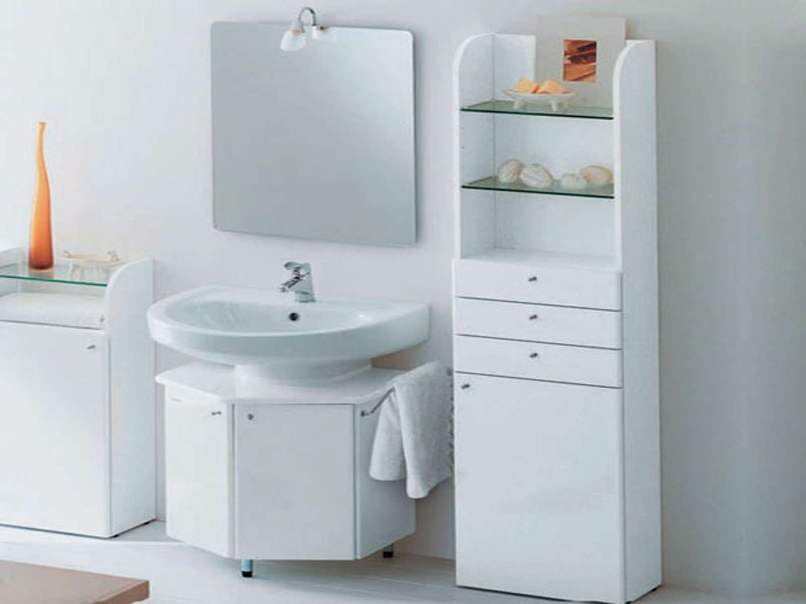 Also Minimalist Bathroom Storage Cabinets