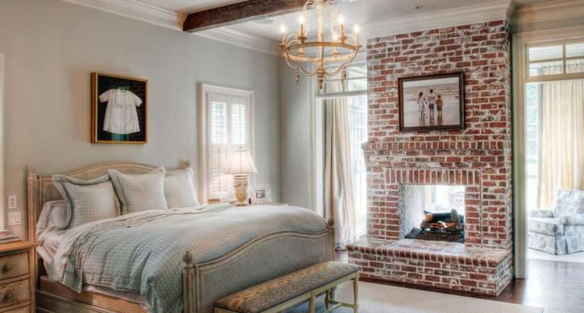 Alternative Brick Options Exposed Fireplace Has
