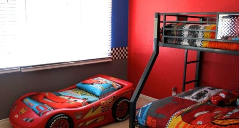 Amazing Toddler Beds Boys Cars Shaped Interior Design Ideas
