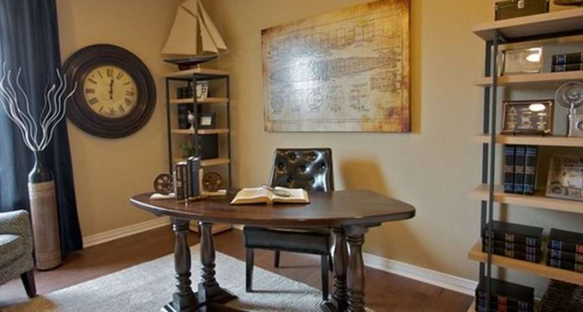Amazing Traditional Home Office Decorating Ideas