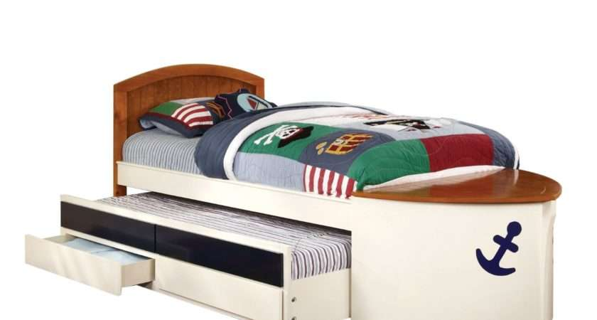 Amazon Furniture American Youth Boat Design Bed Trundle