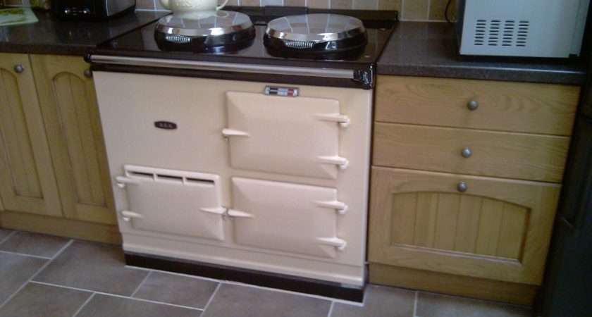 Amp Oven Electric Aga Cooker Cream