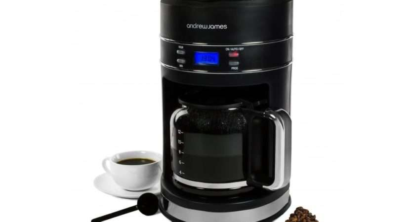 Andrew James Lumiglo Filter Coffee Maker Kitchen