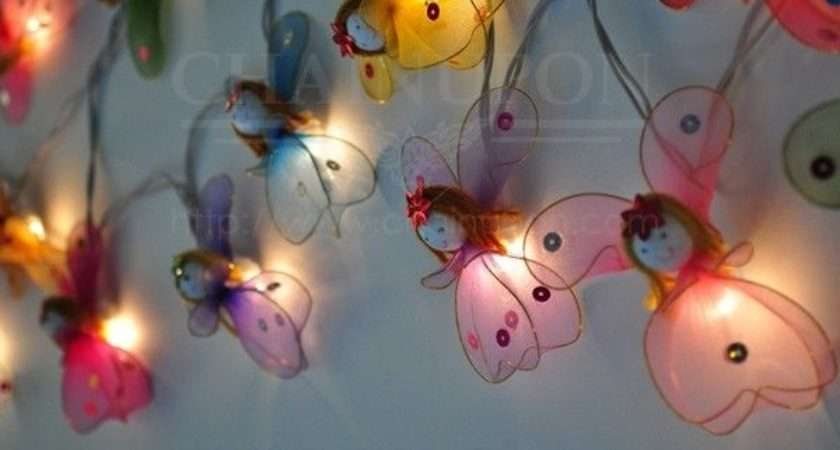 Angel Fancy String Party Fairy Bedroom Home Children