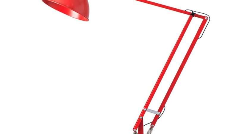 Anglepoise Giant Floor Lamp Signal Red