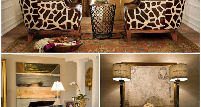 Animal Print Pattern Trend Out Africa Into Your Home