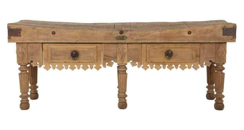 Antique Butcher Table Jayson Home
