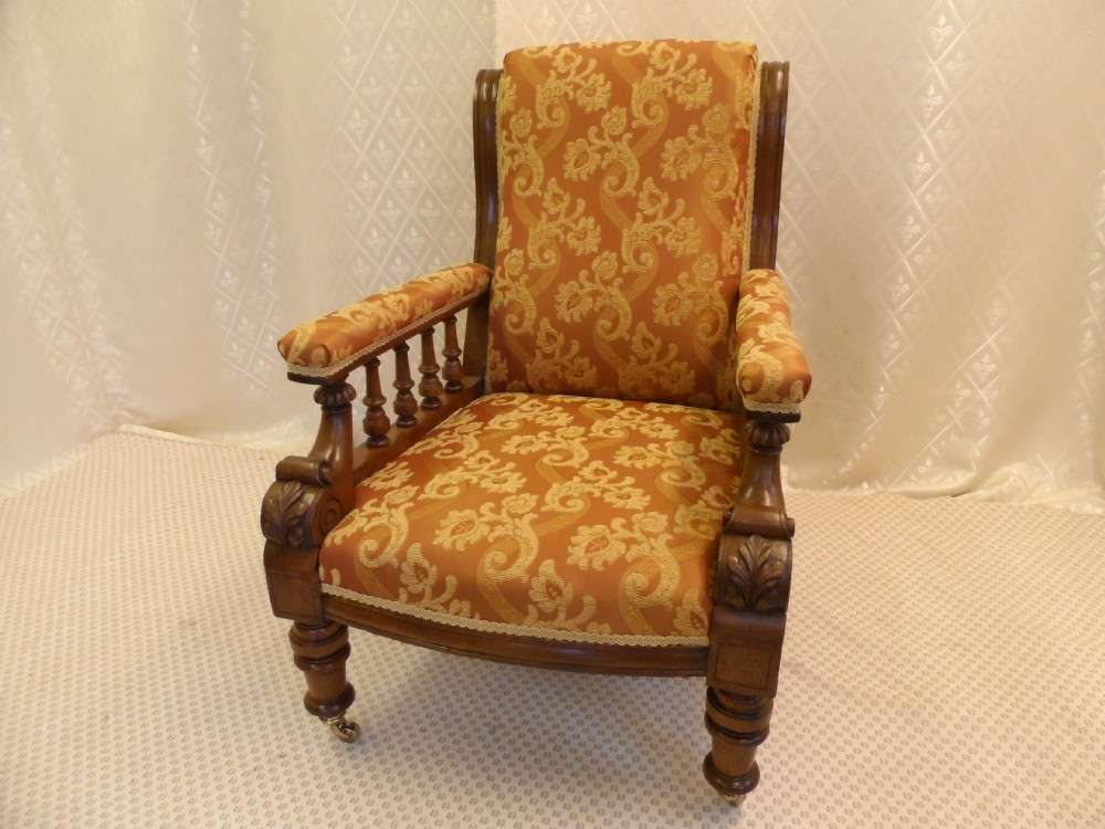 Antique Chairs Lounge Upholstered