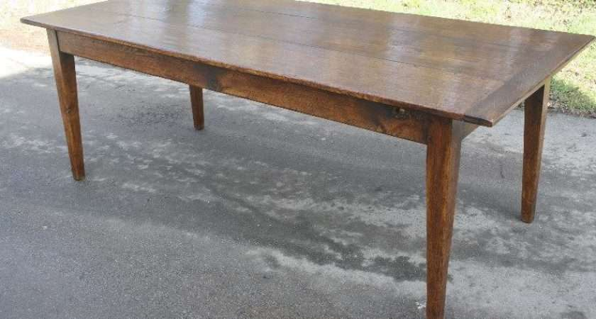 Antique French Oak Farmhouse Table Sold