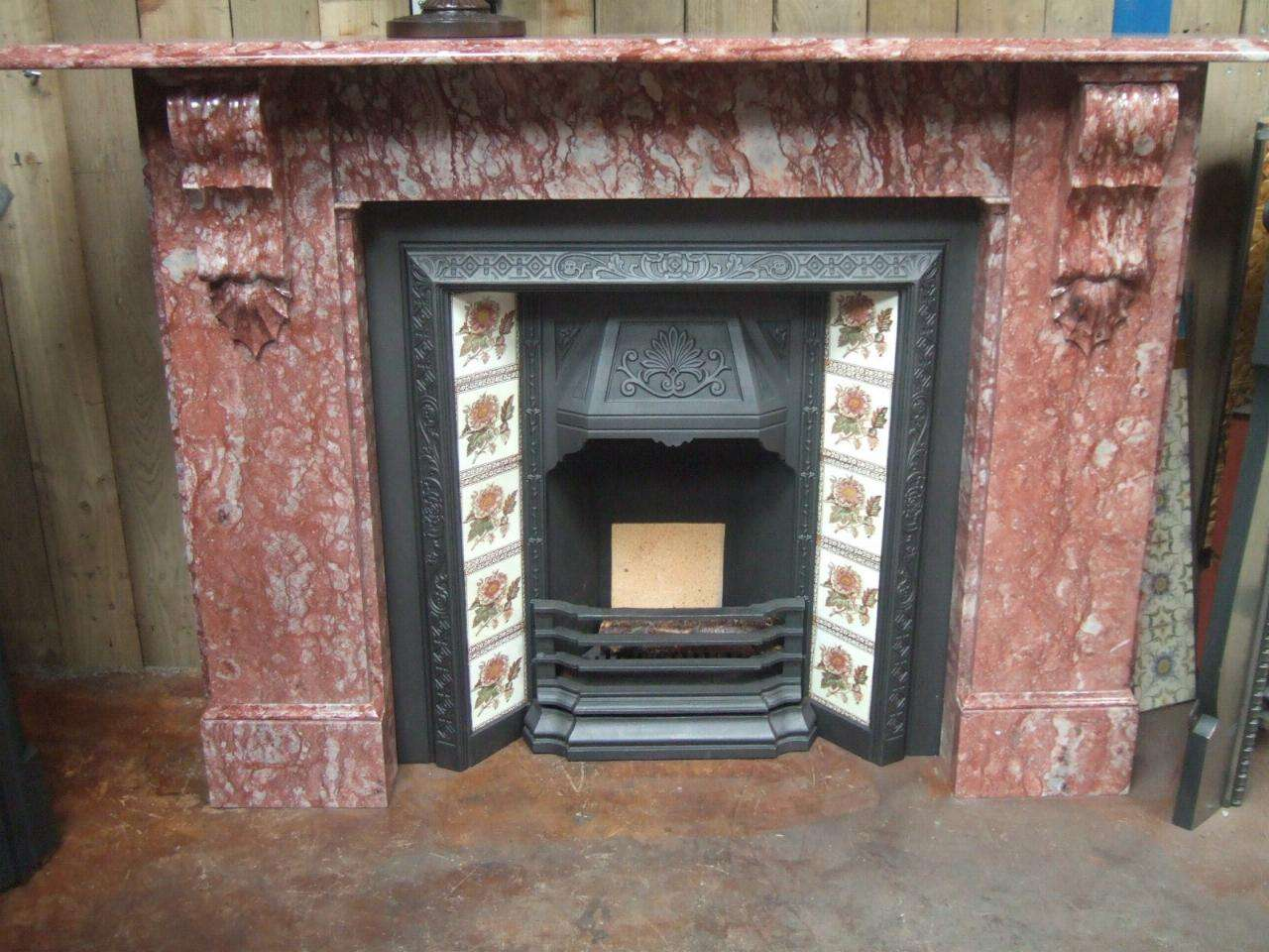 Antique Victorian Marble Fireplace Surround Old Fireplaces