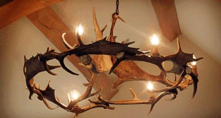 Antler Chandelier Available Chaletchic