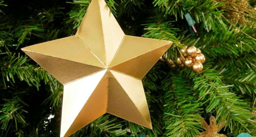 Anyway Secure Your Star Onto Tree Done Take