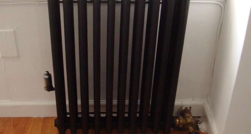 Apartment Progress Radiator Before After