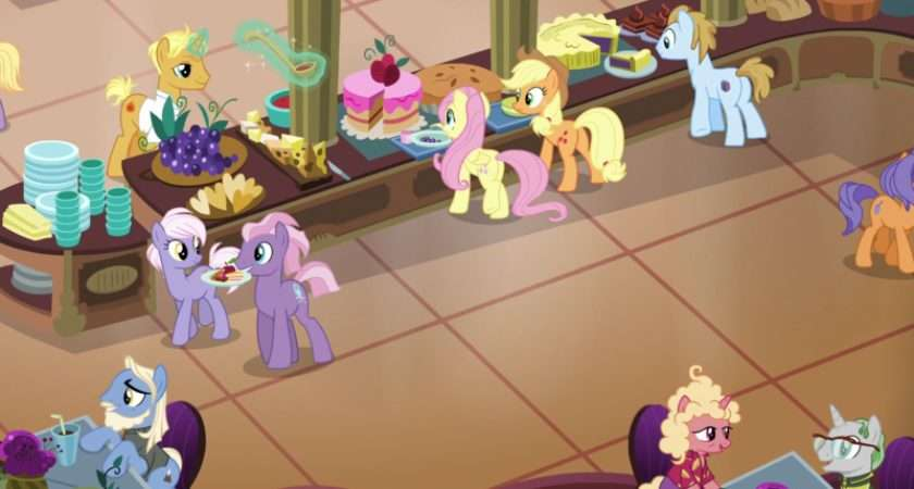 Applejack Buffet Everest Fluttershy Frying Pan Gordon Ramsay