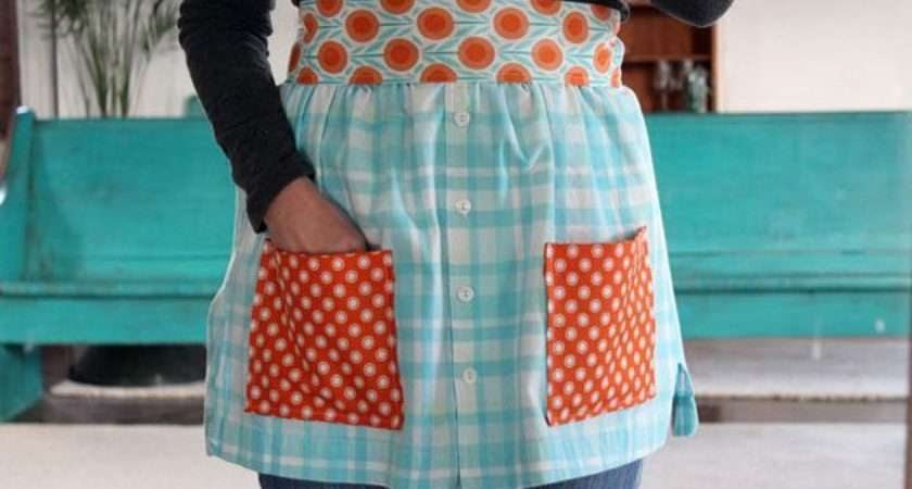 Apron Tutorials Using Recycled Products Bright Ideas