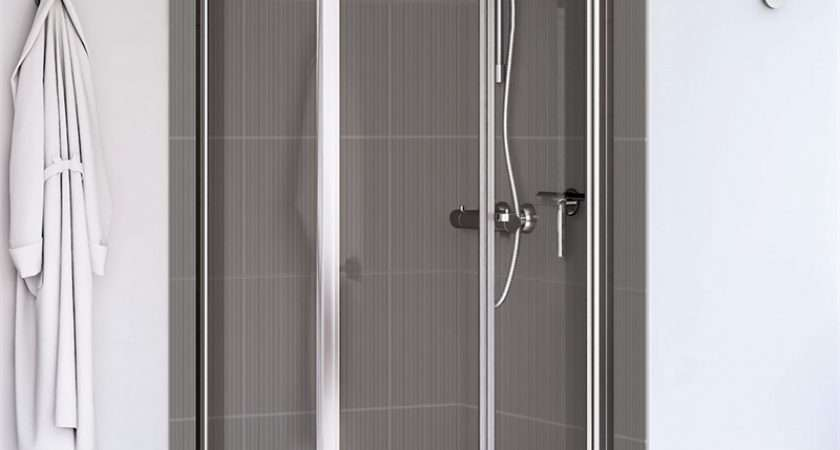 Aqualux Fold Shower Enclosure Homebase