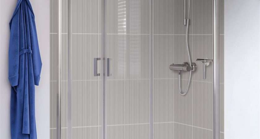 Aqualux Offset Quadrant Shower Enclosure