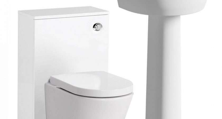 Arc Back Wall Toilet Basin Suite Victoriaplum