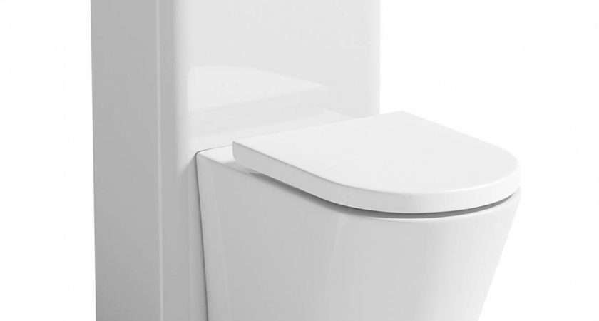 Arc Back Wall Toilet Planet White Unit Victoriaplum