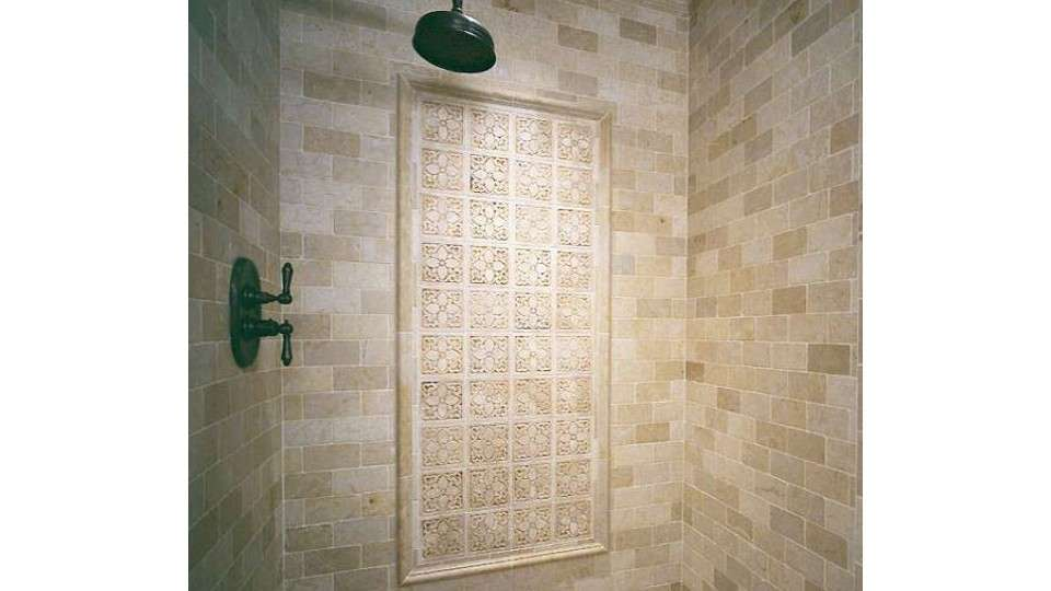 Architectural Stone Bathroom Tile Designs