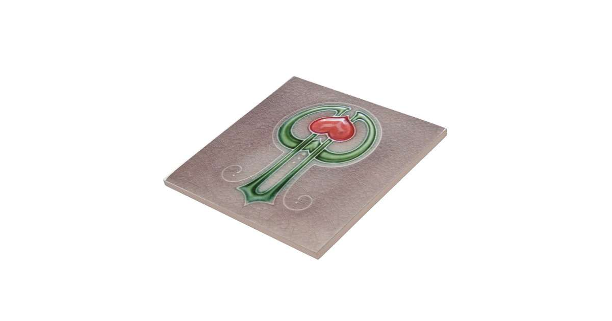 Art Deco Reproduction Ceramic Tile Zazzle