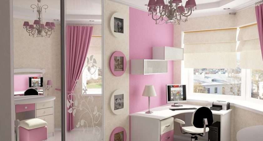 Article Cool Ideas Pink Girls Bedroom