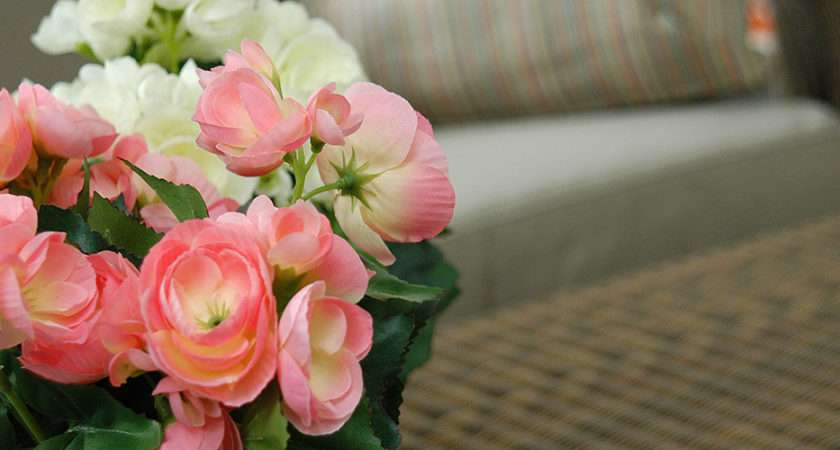 Artificial Flowers Over Types Silk