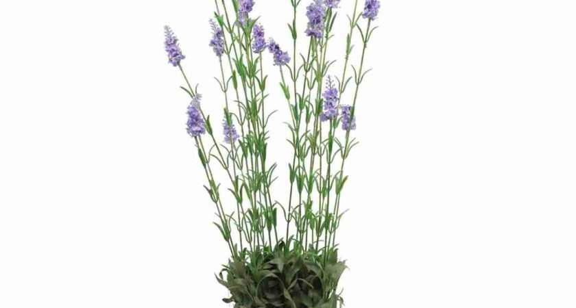 Artificial Large Lavender Plant Fake Blooming