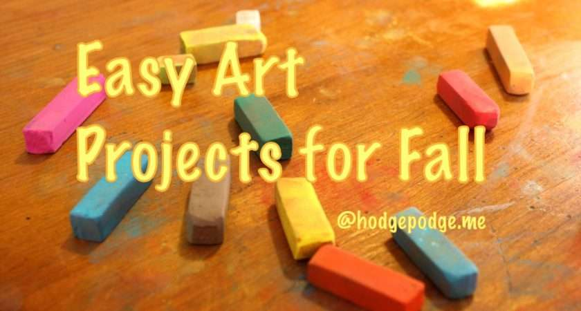 Arts Crafts Adults Easy Art Projects Fall