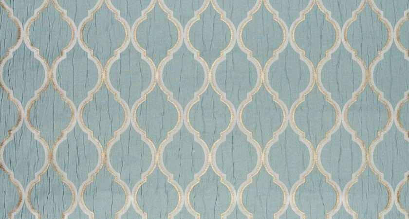 Ashley Wilde Odell Duck Egg Made Measure Curtains