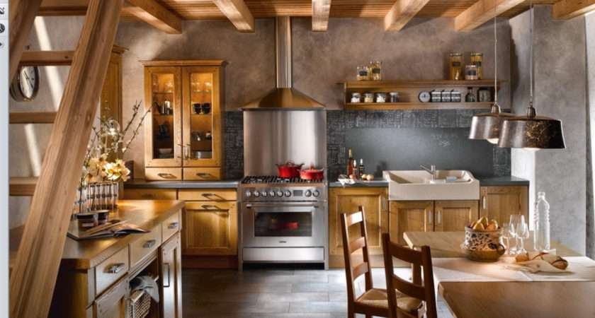 Attractive Country Kitchen Designs Ideas Inspire