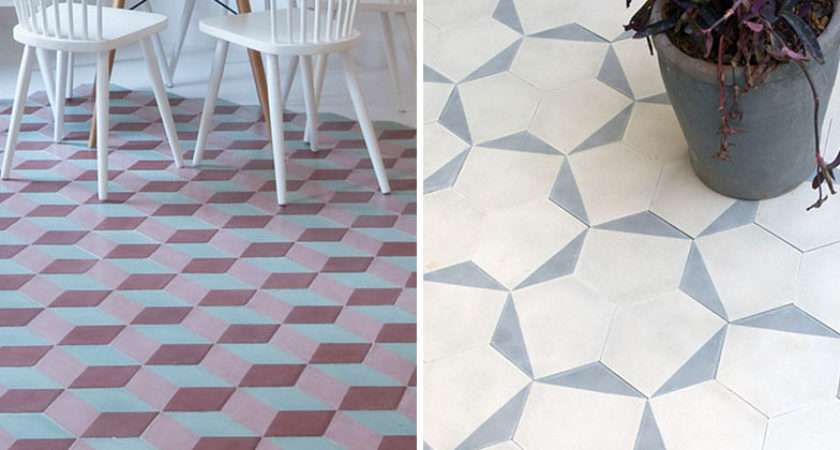Awesome Geometric Floor Patterns Lentine