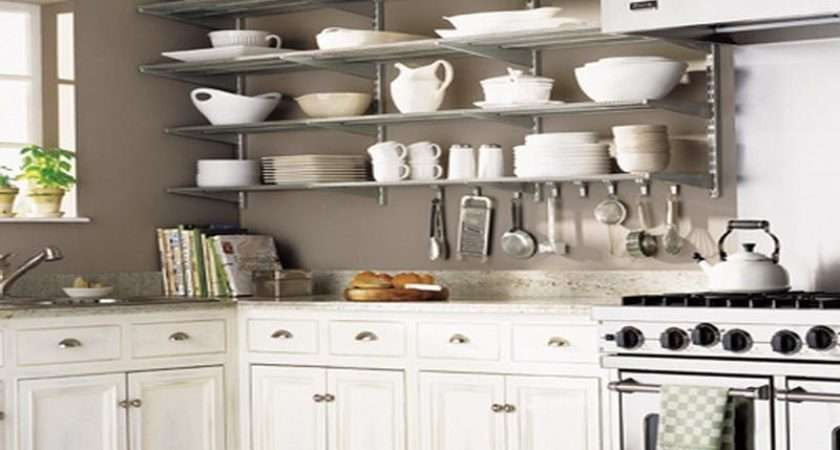 Awesome Kitchen Wall Shelving Ideas Home Interior Design