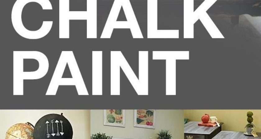 Awesome Uses Chalk Paint Hoophasit Clipboard