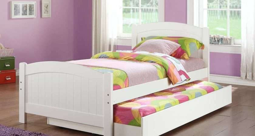 Baby Kids Cool Trundle Bed Ikea Blend Perfectly Twin Metal