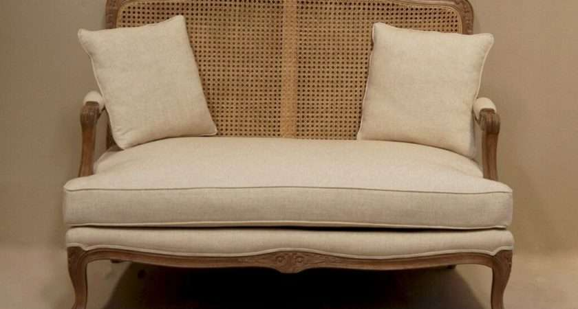 Back French Style Sofa Furniture Upholstered